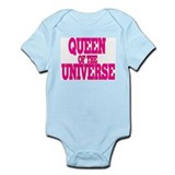 queen of the universe Infant Bodysuit