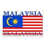 Malaysia Malaysian Flag Postcards (Package of 8)