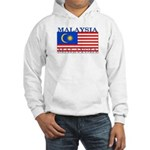 Malaysia Malaysian Flag Hooded Sweatshirt