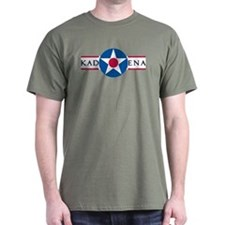 Kadena Air Base Military Green T-Shirt