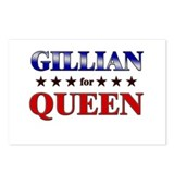 GILLIAN for queen Postcards (Package of 8)