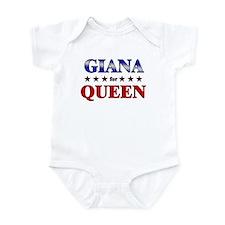 GIANA for queen Infant Bodysuit