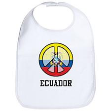 Peace Ecuador Bib