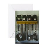 Kitchen Gear Greeting Card