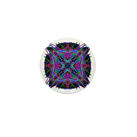 Kaleidoscope 005a2 Mini Button (10 pack)
