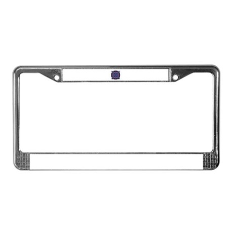 Kaleidoscope 005a2 License Plate Frame