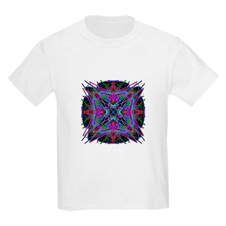 Kaleidoscope 005a2 Kids Light T-Shirt
