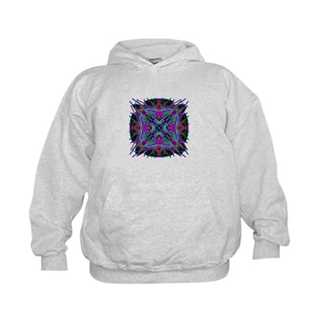 Kaleidoscope 005a2 Kids Hoodie