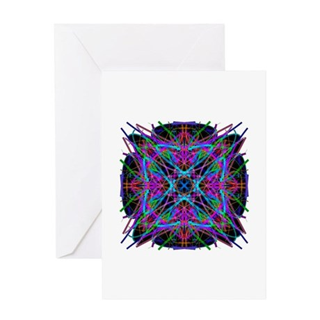 Kaleidoscope 005a2 Greeting Card