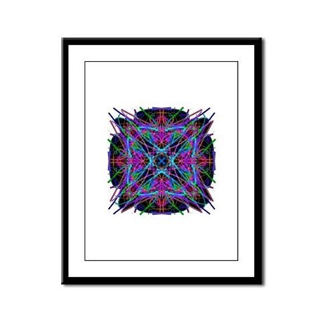 Kaleidoscope 005a2 Framed Panel Print