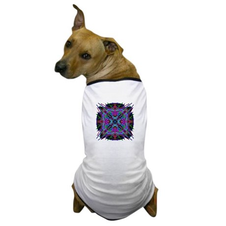 Kaleidoscope 005a2 Dog T-Shirt