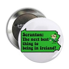 "Scranton St Patricks Day Parade 2.25"" Button (10 p"