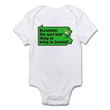 Scranton St Patricks Day Parade Infant Bodysuit