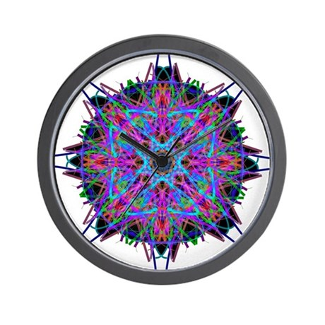 Kaleidoscope 005b2 Wall Clock