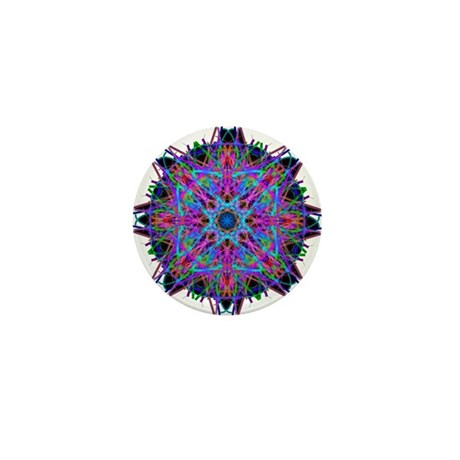 Kaleidoscope 005b2 Mini Button (10 pack)