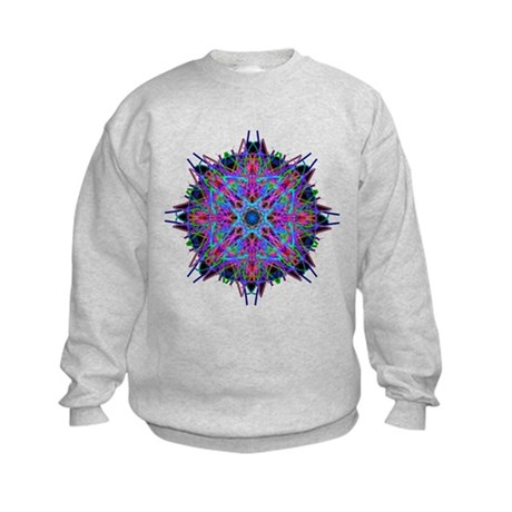 Kaleidoscope 005b2 Kids Sweatshirt