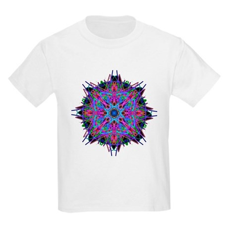 Kaleidoscope 005b2 Kids Light T-Shirt
