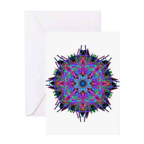 Kaleidoscope 005b2 Greeting Card