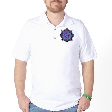 Kaleidoscope 005b2 Golf Shirt
