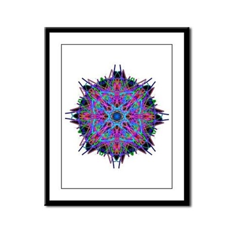Kaleidoscope 005b2 Framed Panel Print