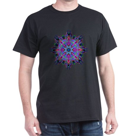 Kaleidoscope 005b2 Dark T-Shirt