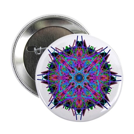 "Kaleidoscope 005b2 2.25"" Button (10 pack)"