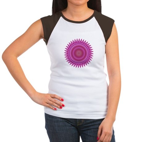 Kaleidoscope 00018 Women's Cap Sleeve T-Shirt