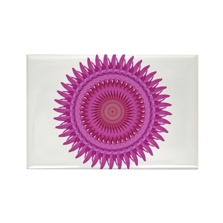 Kaleidoscope 00018 Rectangle Magnet (100 pack)