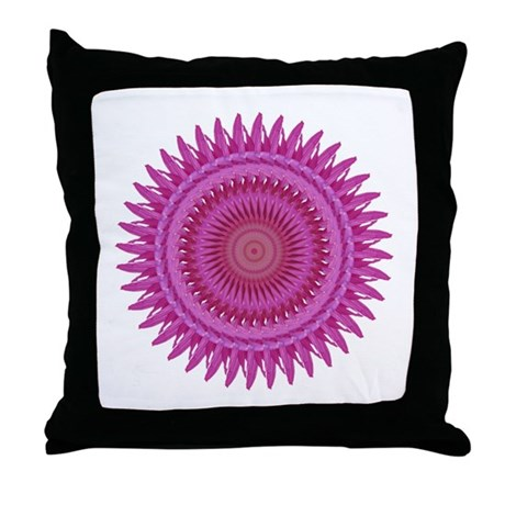 Kaleidoscope 00018 Throw Pillow