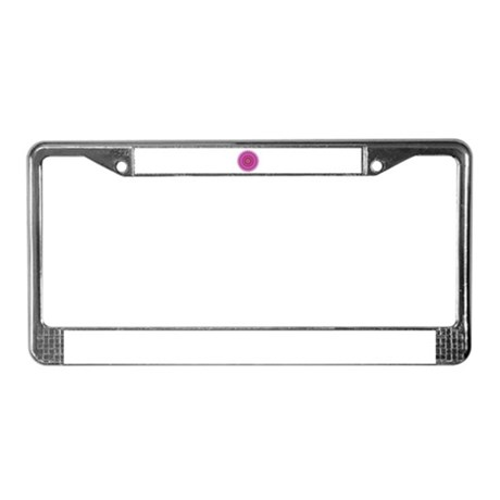 Kaleidoscope 00018 License Plate Frame
