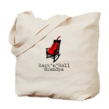 Rock'n'Roll Grandpa Tote Bag