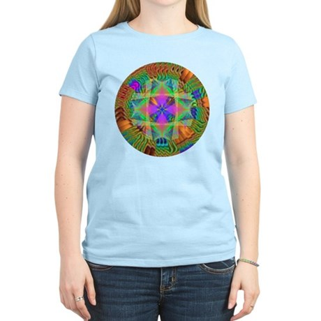 Kaleidoscope 002a Women's Light T-Shirt