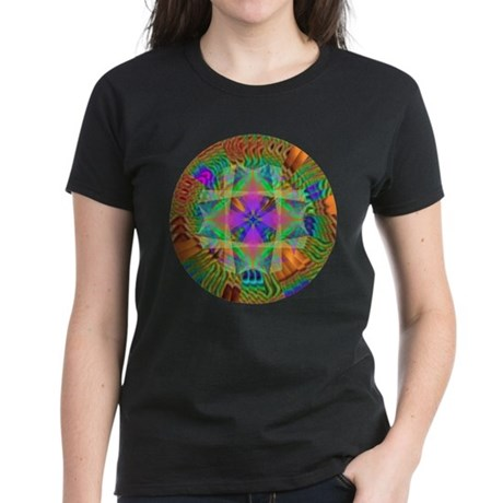Kaleidoscope 002a Women's Dark T-Shirt