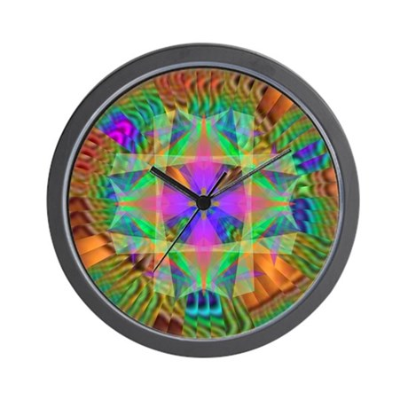 Kaleidoscope 002a Wall Clock