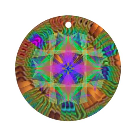 Kaleidoscope 002a Ornament (Round)