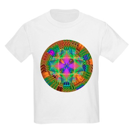 Kaleidoscope 002a Kids Light T-Shirt