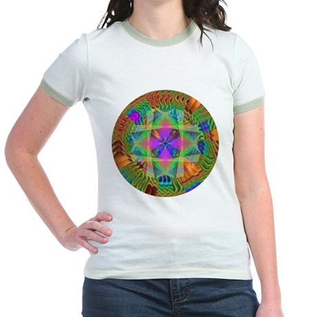 Kaleidoscope 002a Jr. Ringer T-Shirt