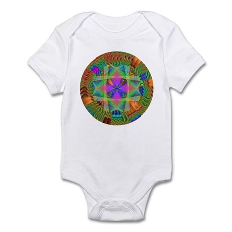 Kaleidoscope 002a Infant Bodysuit
