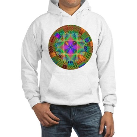 Kaleidoscope 002a Hooded Sweatshirt