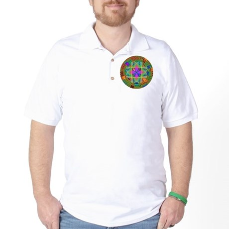 Kaleidoscope 002a Golf Shirt