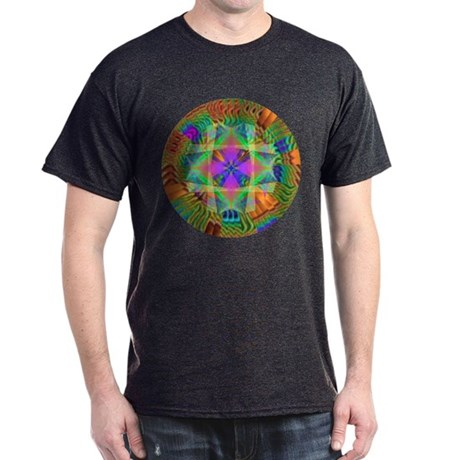 Kaleidoscope 002a Dark T-Shirt