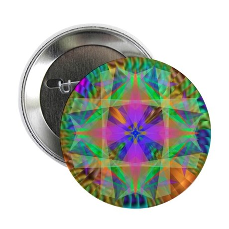 "Kaleidoscope 002a 2.25"" Button (10 pack)"