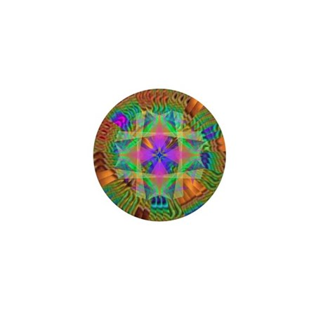 Kaleidoscope 002a Mini Button (10 pack)