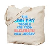 Coolest: Elizabeth, NJ Tote Bag