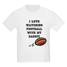 football with dad T-Shirt