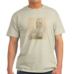 Indigo Tumbler Pigeon Light T-Shirt