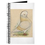 Indigo Tumbler Pigeon Journal