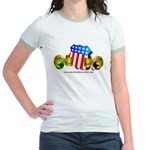 Official American Bocce Club Jr. Ringer T-Shirt