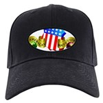 Official American Bocce Club Black Cap