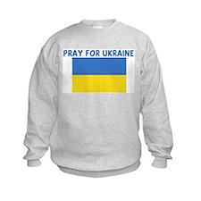 PRAY FOR UKRAINE Sweatshirt